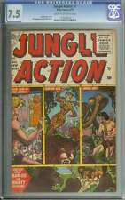 JUNGLE ACTION #6 CGC 7.5 CR/OW PAGES