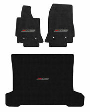 2014 - 2019 C7 Corvette Coupe Jet Black Front Floor & Trunk Mats - Z06 Logos