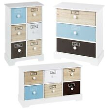 3 4 6 Wooden Drawers Storage Boxes Shabby Chic Containers Bits & Bobs Organiser