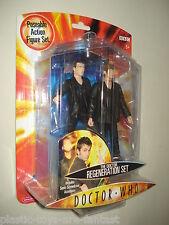 "DOCTOR WHO - The Doctor REGENERATION Set 5"" Action Figure 2004 MOC MINT NEW"