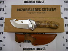 RAZOR BLADES RED STAG GUTHOOK HUNTING CAMPING FISHING SKINNING KNIFE