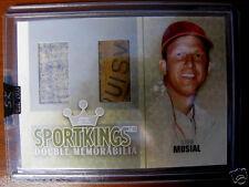 Stan Musial 2007 Sportskings Game Used  Bat Barrel Jersey