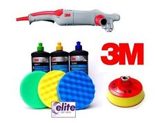 3M Electric Rotary Polisher & Compounding Set & 150mm Machine Pads