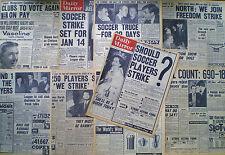 PFA PROFESSIONAL FOOTBALLERS ASSOCIATION MAXIMUM WAGE JIMMY HILL 9 PAGES 1960