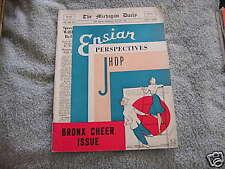 Michigan Daily Bronx Cheer Issue January 1939