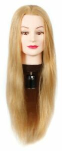 Hair Mannequin - 80% Human - 24'' length, Blonde - HairArt - HOT SALE!!