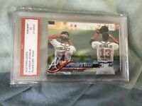 Ronald Acuna Jr/Ozzie Albies RC 2018 Topps 'The Future Is Bright' Insert PSA 10
