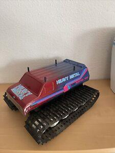 RC Auto Kyosho Heavy Metal Monster Tank - Rarität aus den 80ern -