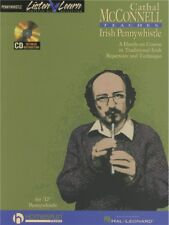 Learn to play Irish Pennywhistle Penny Whistle Songs Music Book & CD EASY SONGS