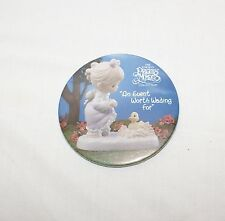 Precious Moments Button Pinback An Event Worth Waiting For Collectible Pin