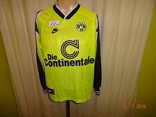 Borussia dortmund nike manga larga hogar maestro alemán camiseta 1995/96 talla S-M
