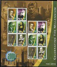 IRELAND MILLENIUM SHEET 5 World events YT 1300/05 MNH