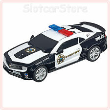 "Carrera GO 64031 Chevrolet Camaro ZL1 ""Sheriff"" (mit Blaulicht) 1:43"