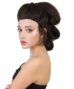 Adult Cosplay Rey Style Brown Wig Force Awakens Halloween Party Costume HW-1352A