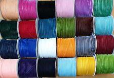63 Black 5m x 6mm Velvet Ribbon