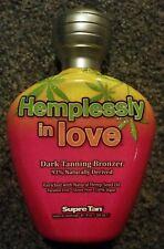 Supre Hemplessly in Love Bronzer 100% Vegan Tanning Lotion + FREEBIE