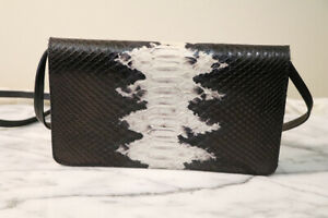 &Other Stories Genuine Leather Croc Embossed Cross body