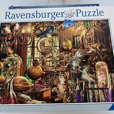 "Premium Ravensburger 1000 Piece Puzzle ""Merlin's Laboratory""  No.198344"