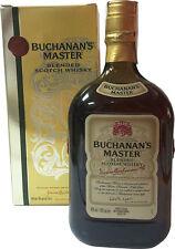 Whisky Buchanan's Master 1 Litro  100 cl  43% vol. CON ASTUCCIO