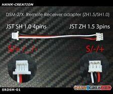 DSM-2/X Remote Receiver adapter(ZH1.5/SH1.0) 90GT / FPV Flight Tower