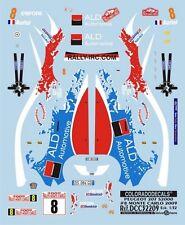 DECALS 1/32 PEUGEOT 207 S2000 - #8 D.AURIOL - MONTE CARLO 2009 - COLORADO 32209