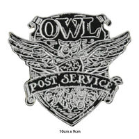 Harry Potter OWL Post Office Embroidered Patch Iron on Sew On Badge For Clothes
