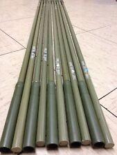 More details for 10x british army camo hide netting fibreglass poles polytunnel land rover fishin