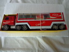 Buddyl Mack Truck Coca Cola Trailer W/ 8 Cases And Vending Machine
