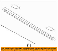 FORD OEM Bed or Tailgate-Top Molding Trim Protector Cap Left FL3Z84291A41AA