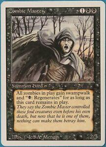 Zombie Master Revised HEAVILY PLD Black Rare MAGIC CARD (ID# 211849) ABUGames