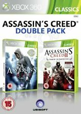 Assassin's Creed 1 & 2 - Ubisoft Double Pack (Xbox 360).