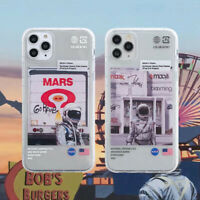 Case for iPhone 11 Pro Max XR XS NASA Soft Phone Cover TPU Silicone Cover