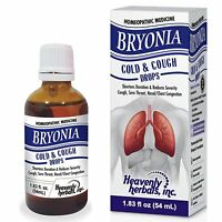 Bryonia Cold & Cough Drops, Cough, Sore Throat, Chest Congestion & Flu Relief