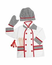 FAO Schwarz $40 NWT 6 Piece Chef  Baker Role Play Children Outfit Set