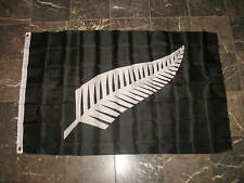 3x5 The Silver Fern of New Zealand Flag 3'x5' Banner Brass Grommets