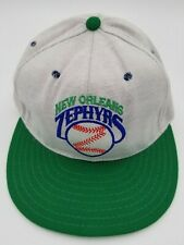 Vintage New Orleans Zephyrs Pro-Line Fitted Hat Deadstock Rare 6 3/4 90's NWOT