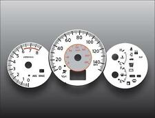 Fits 2005-2006 Nissan Altima Dash Instrument Cluster White Face Gauges