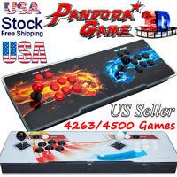 Pandora's Box 4500/4263 Games 3D Retro Classic Video Arcade Consoles HD Video
