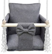 Babyschaukel Kinderschaukel Hängesessel Kinder Holz Indoor Schaukel HUGO - HIT