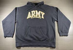 VINTAGE Army Black Knights Sweater Men's 2XL Black Yellow Reebok Football 90s