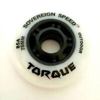 8-Pack 78mm OUTDOOR Inline Skate Wheels / rollerblade roller hockey fitness 85A