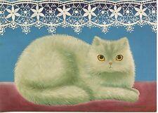 POSTCARD CARTE POSTALE ILLUSTRATEUR ANNA HOLLERER N° LA 28 / CAT / CHAT