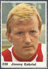 JIMMY GABRIEL A/&BC-FOOTBALL 1971 PURPLE BACK DYK-#085 SOUTHAMPTON