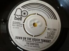 THE DRIFTERS . DOWN ON THE BEACH TONIGHT . 1974 . Classic Hit