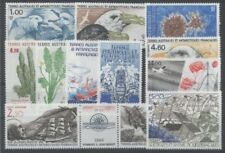 TERRES AUSTRALES FSAT - 1986 - ANNEE COMPLETE P + PA - TIMBRES NEUFS LUXE **