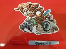 Lowbrow kustom kulture hot rod autocollant le pizz von franco roth pigors forbes