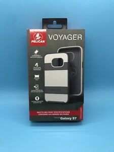 Pelican Voyager for Samsung Galaxy S7 White/Grey/Gray Case Clip - New ...