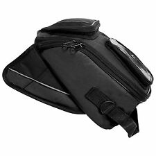 Motorcycle Mini Magnetic Tank Bag - Motorbike Pannier Bag With GPS/Mobile Pocket