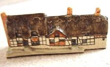 Tey Ceramica Inghilterra Porcellana In Miniatura Cottage Ornamento, Anne Hathaway's Cottage
