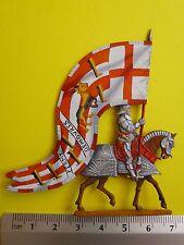 PLAT ETAIN ETENDARD & BANNIERE ANGLETERRE = SIR GODFREY FOLJAMBE DE WALTON 1513